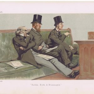 The Treasury Bench Original Vanity Fair Print