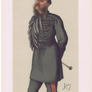 Grenadier Guards Colonel Phillips Vanity Fair Print