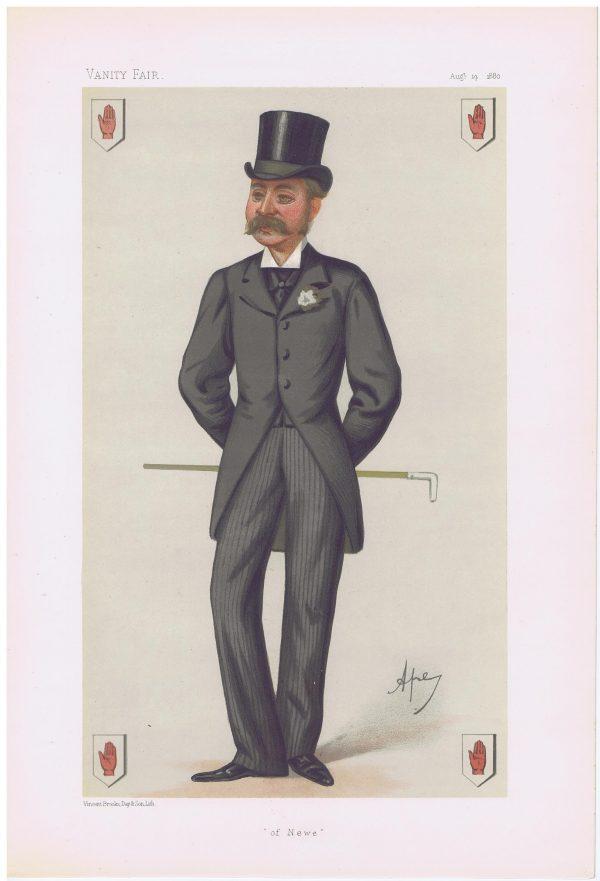 Sir Charles John Forbes of Newe Vanity Fair Print