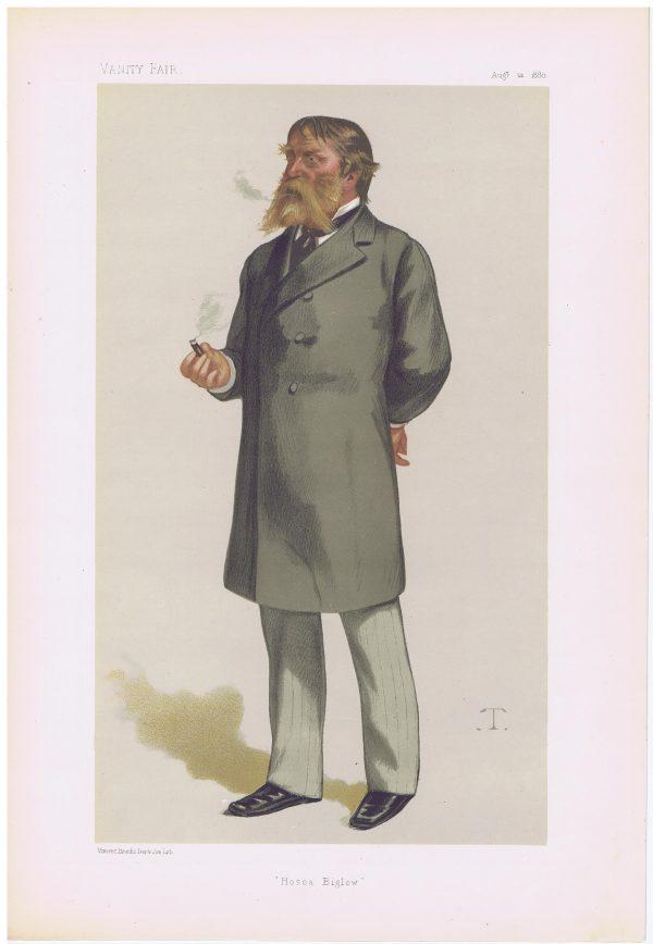 James Russell Lowell Vanity Fair Print