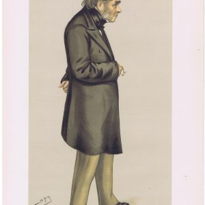 Sir Henry Bessemer Vanity Fair Print