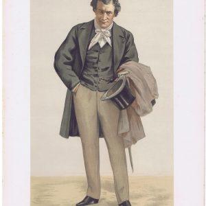 Victorien Sardou Original Vanity Fair Print