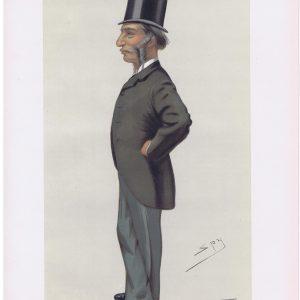 Sir Farrer Herschell Original Vanity Fair Print