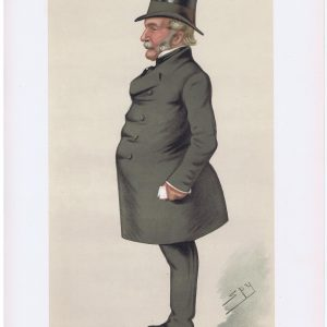 Lord Waveney Vanity Fair Print