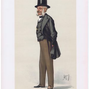 General Lord Lucan Vanity Fair Print