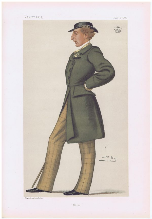 Thomas Lister Lord Ribblesdale Vanity Fair Print
