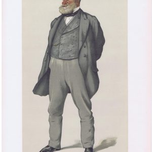 Alderman Robert Fowler Vanity Fair Print