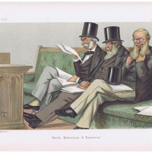 Her Majesty's Opposition Vanity Fair Print
