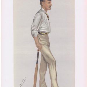Lord Harris Vanity Fair Cricketer Print