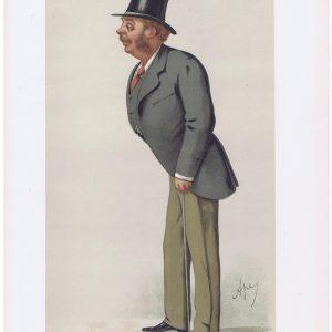 Sir Matthew Ridley Vanity Fair Print