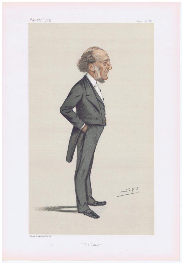 John Walter Original Vanity Fair Print