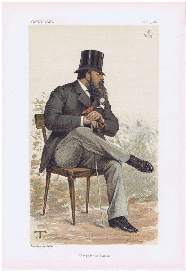 Lord Rendlesham Vanity Fair Print