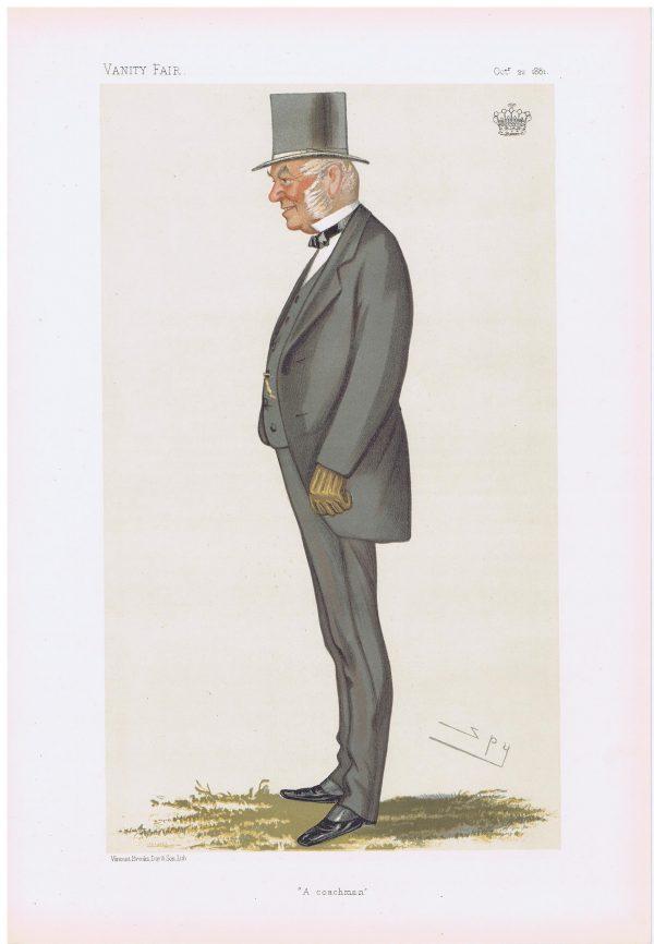 Earl Macclesfield Vanity Fair Print