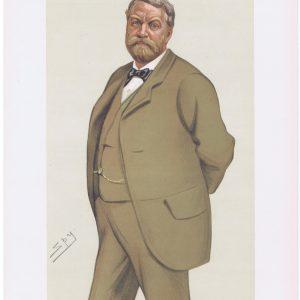 William Lowther Original Vanity Fair Print