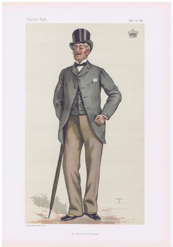 The Earl Of Rosslyn Original Vanity Fair Print