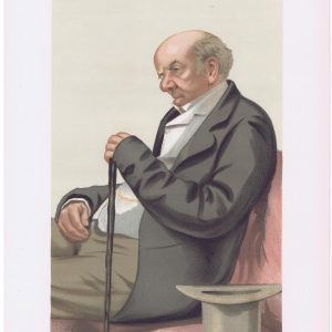 Judge Colin Blackburn Original Vanity Fair Print