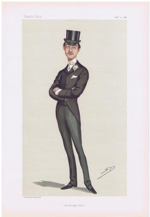 Charles Robert Spencer Vanity Fair Print