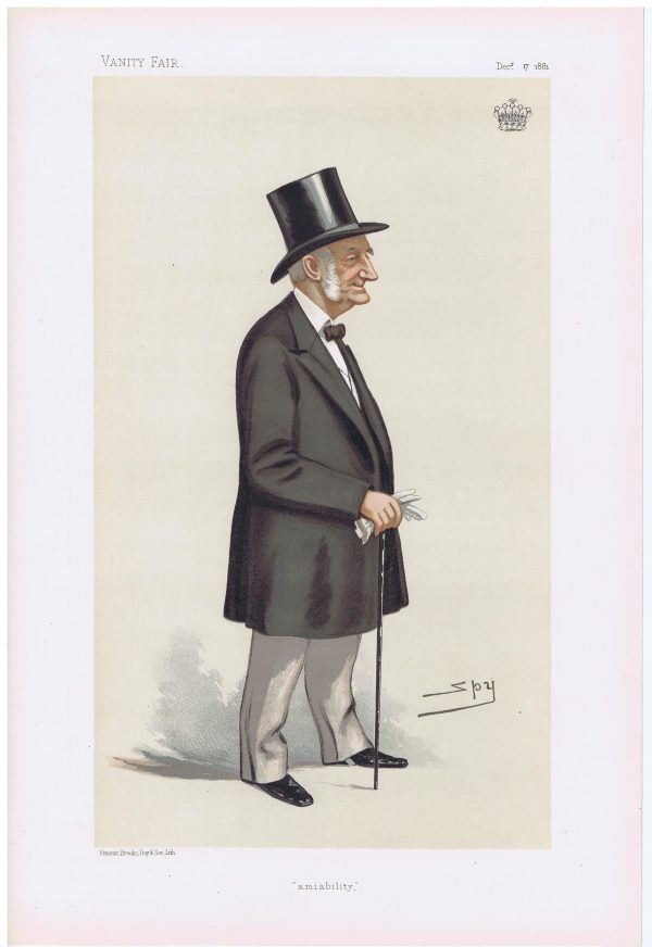 The Earl Of Leven and Melville Vanity Fair Print