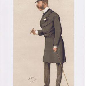 General Sir Charles Henry Ellice Vanity Fair Print