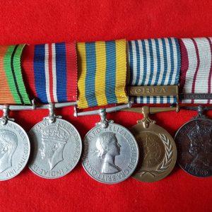 Fleet Air Arm WW2 Korean War Medal Group