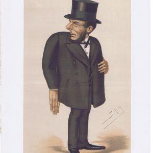 Joseph Gillis Biggar Original Vanity Fair Print
