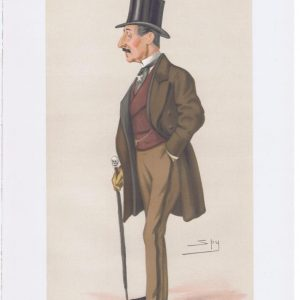 General Charles Hastings Doyle Vanity Fair Print