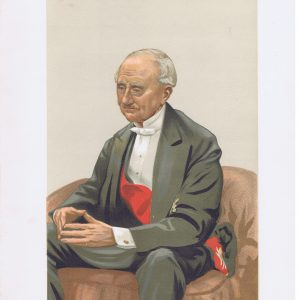 Admiral Sir Hastings Reginald Yelverton Vanity Fair Print
