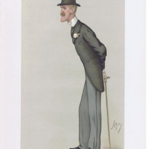 Colonel Frederick Wellesley Original Vanity Fair Print