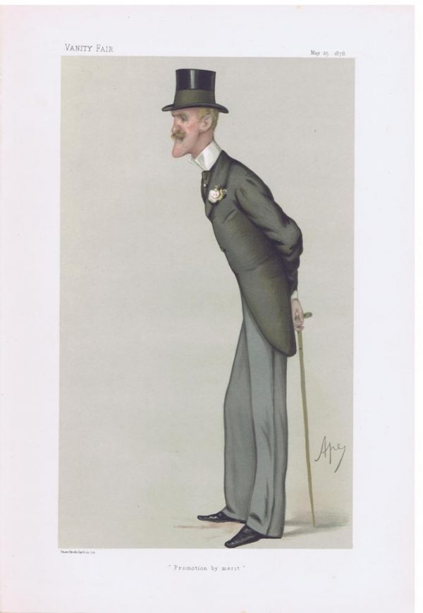 Colonel Frederick Wellesley Original Vanity Fair Print