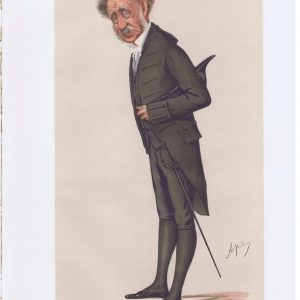 General William Knollys Original Vanity Fair Print