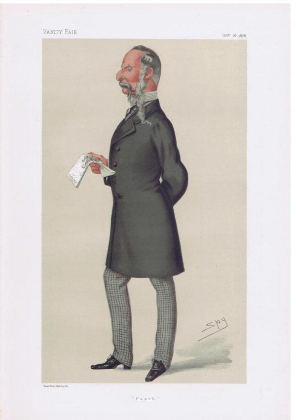 John Tenniel Original Vanity Fair Print