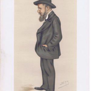 Joseph Cowen Original Vanity Fair Print