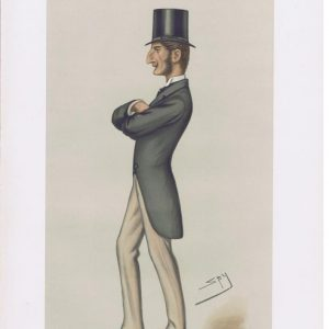 Claud John Hamilton Original Vanity Fair Print
