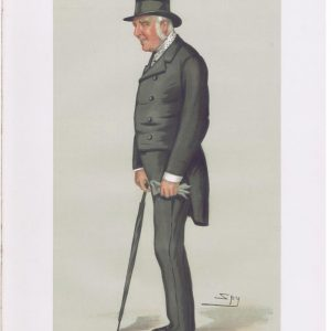 George Lane-Fox Original Vanity Fair Print