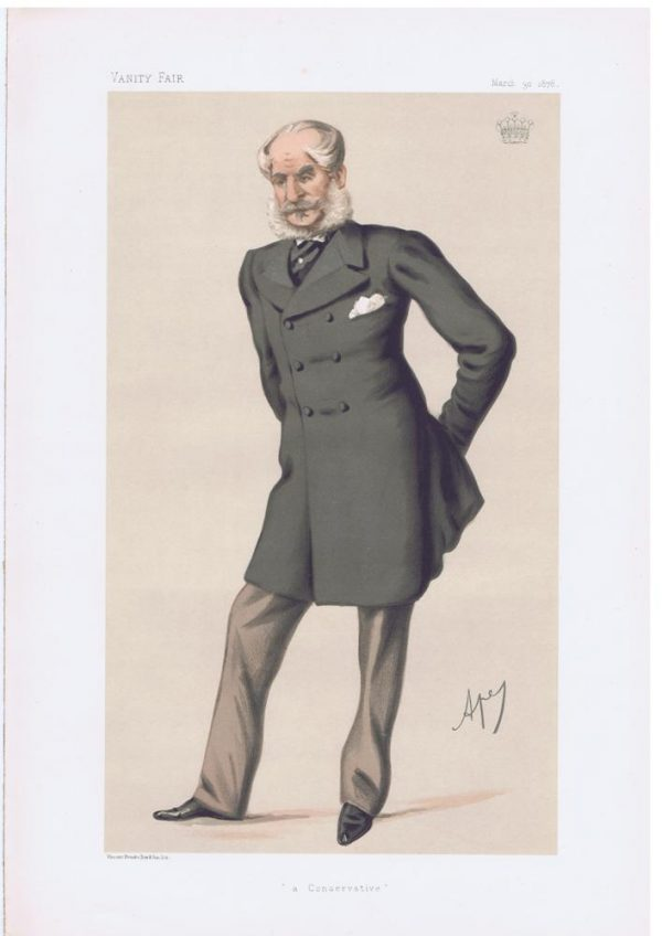 William DuncombeEarl Of Feversham Vanity Fair Print