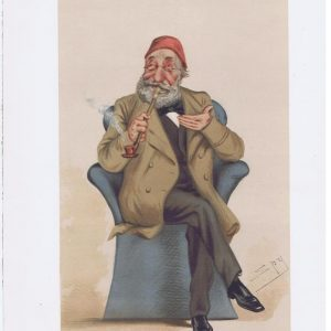 His Highness Midhat Pasha Vanity Fair Print