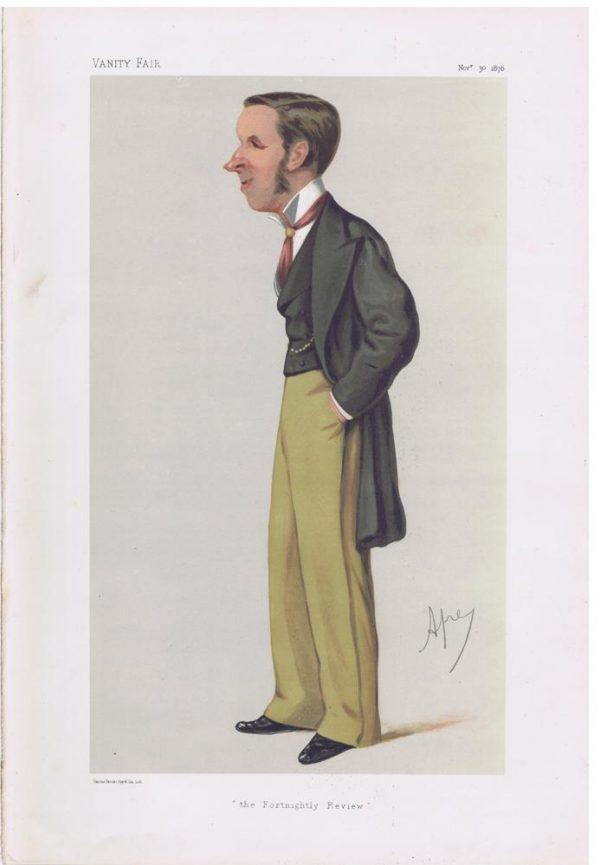John Morley Original Vanity Fair Print