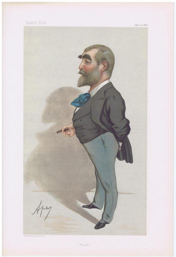 Francis Burnand Original Vanity Fair Print