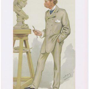 Joseph Edgar Boehm Vanity Fair Print