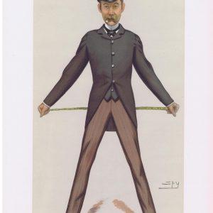 Bache Edward Cunard Original Vanity Fair Print