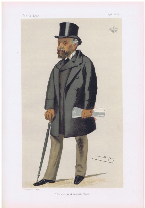 Earl Nelson Original Vanity Fair Print