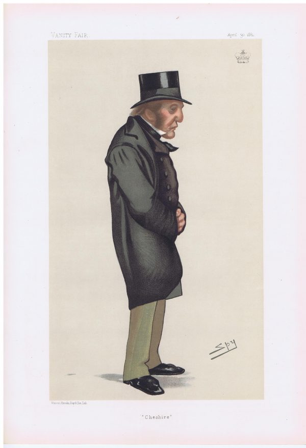 Lord Tollemache Original Vanity Fair Print