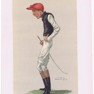 Fred Archer Original Vanity Fair Jockey Print