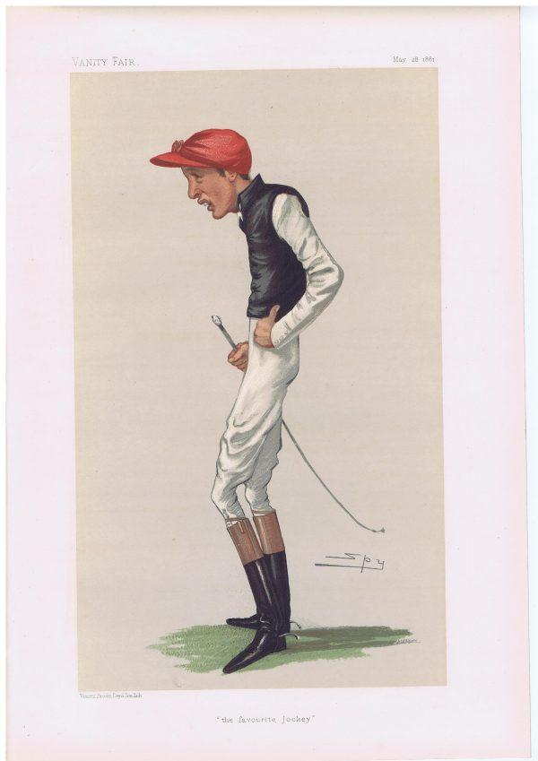 Fred Archer Original Vanity Fair Jockey Print