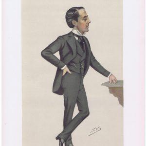 Earl Cadogan Original Vanity Fair Print