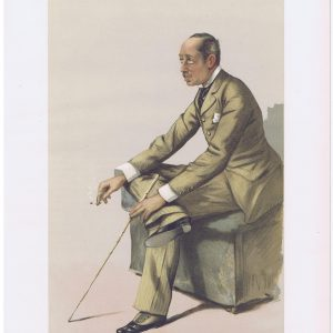 The Marquis of Blandford Vanity Fair Print