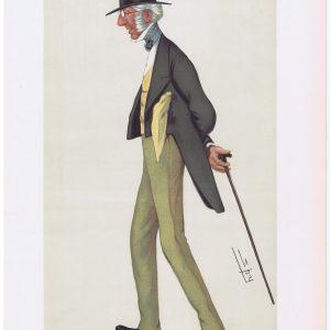 Charles Cox Original Vanity Fair Print