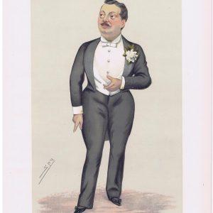 Alexander Grantham Yorke Vanity Fair Print