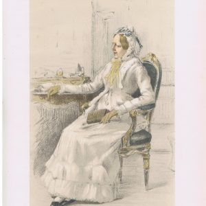 Duchess Dowager Of Cleveland Vanity Fair Print
