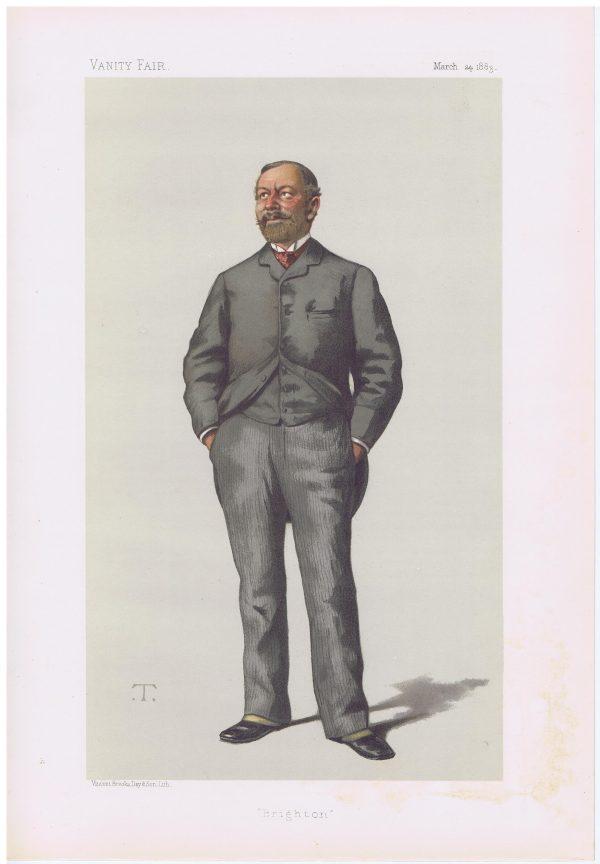 William Thackeray Marriott Vanity Fair Print